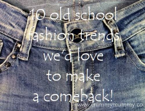 10 old school fashion trends we'd love to make a comeback!