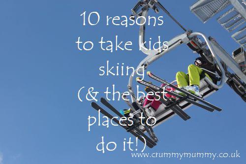 reasons to take kids skiing