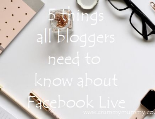 5 things all bloggers need to know about Facebook Live