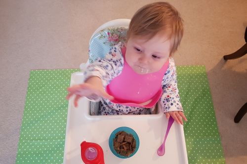 Win £30 worth of Messy Me oilcloth weaning accessories 13