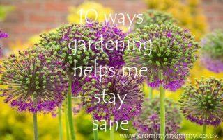ways gardening helps