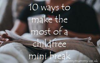 childfree mini break