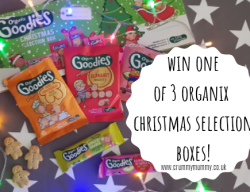 Win one of 3 Organix Christmas selection boxes!