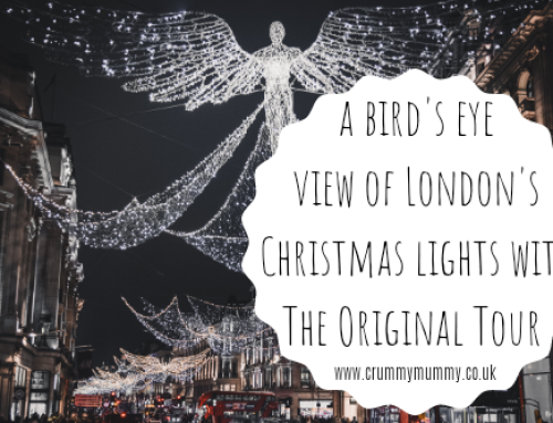 A bird's eye view of London's Christmas lights with The Original Tour