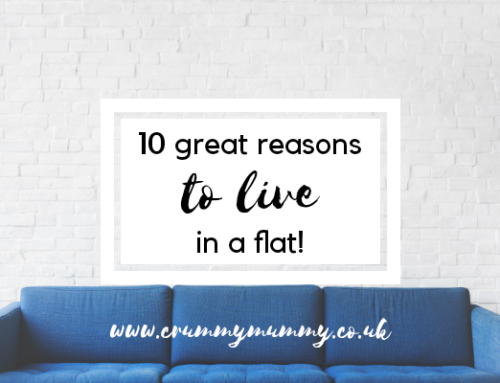 10 great reasons to live in a flat!