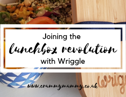 Joining the lunchbox revolution with Wriggle #ad