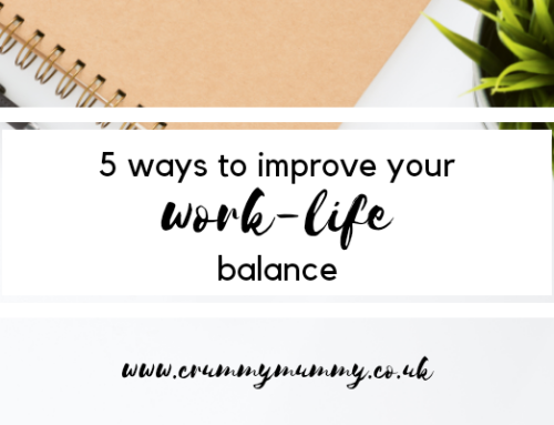 5 ways to improve your work-life balance