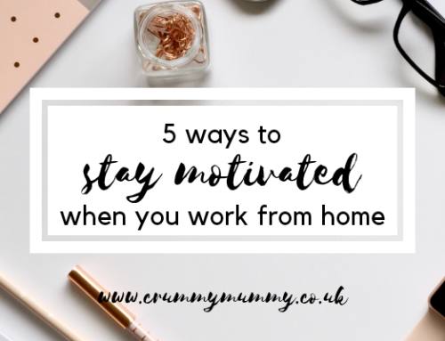 5 ways to stay motivated when you work from home