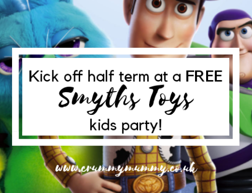 Kick off half term at a FREE Smyths Toys kids party!