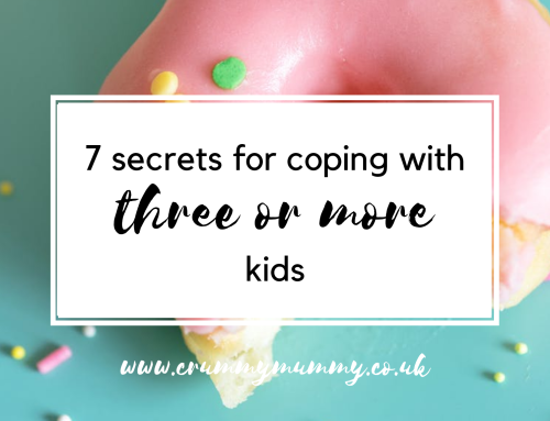 7 secrets for coping with three or more kids