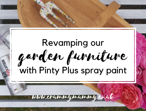 Revamping our garden furniture with Pinty Plus spray paint