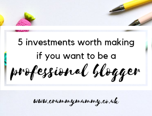 5 investments worth making if you want to be a professional blogger