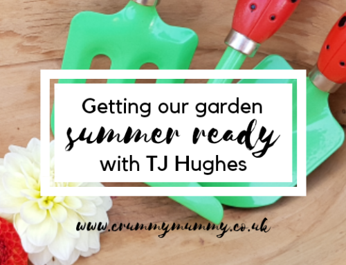 Getting our garden summer ready with TJ Hughes