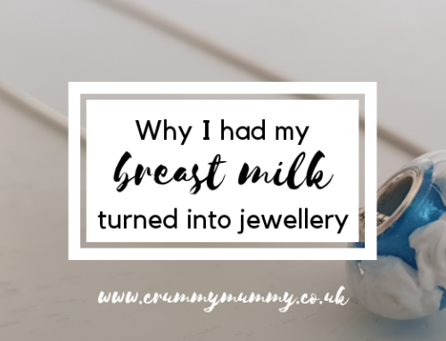 Why I had my breast milk turned into jewellery