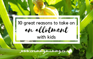allotment with kids