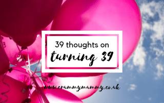 turning 39