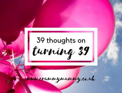 39 thoughts on turning 39