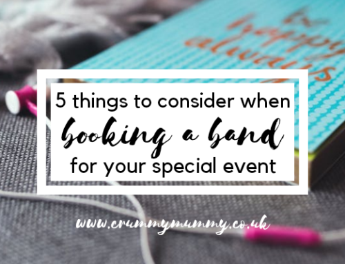 5 things to consider when booking a band for your special event