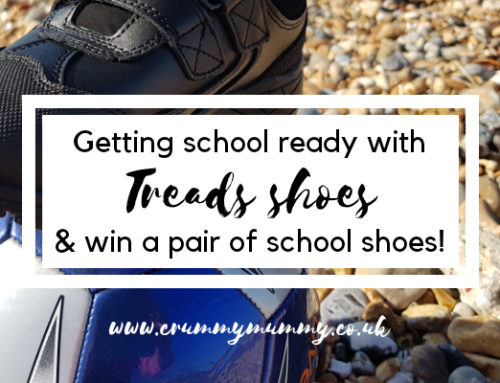 Getting school ready with Treads shoes & win a pair of school shoes!