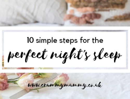 10 simple steps for the perfect night's sleep