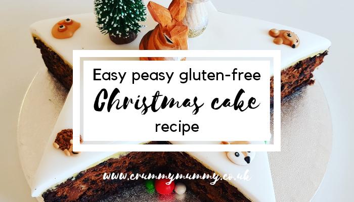 gluten-free Christmas cake recipe