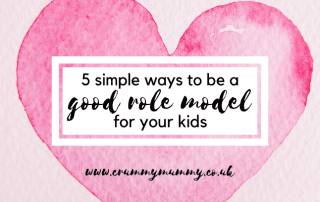 ways to be a good role model