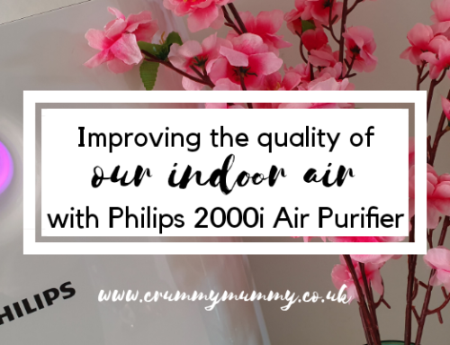 Improving the quality of our indoor air with Philips 2000i Air Purifier