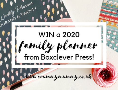 WIN a 2020 family planner from Boxclever Press!