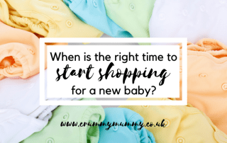 shopping for a new baby