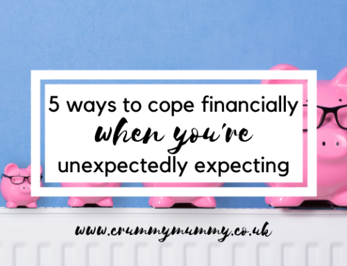 5 ways to cope financially when you're unexpectedly expecting