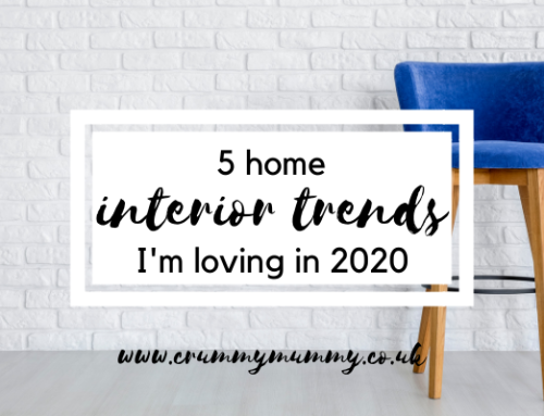 5 home interior trends I'm loving in 2020 #ad