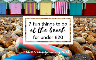 things to do at the beach