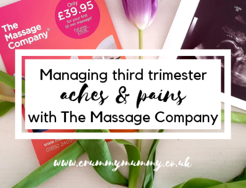 Managing third trimester aches & pains with The Massage Company