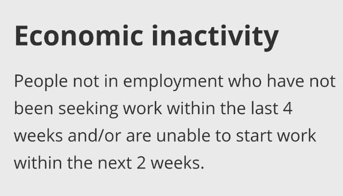 economically inactive