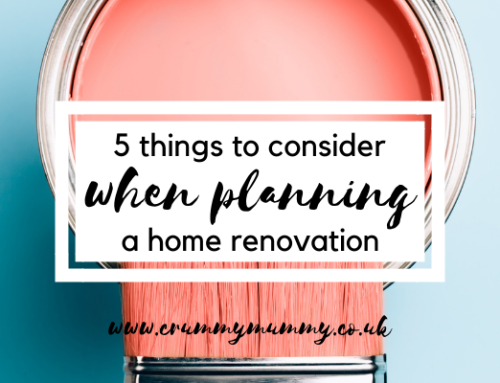 5 things to consider when planning a home renovation