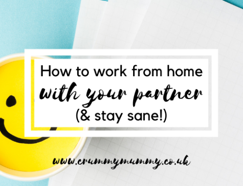 How to work from home with your partner (& stay sane!)