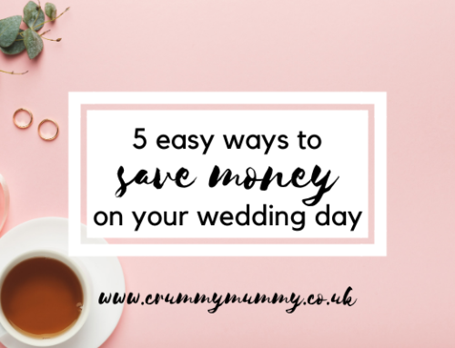 5 easy ways to save money on your wedding day #ad