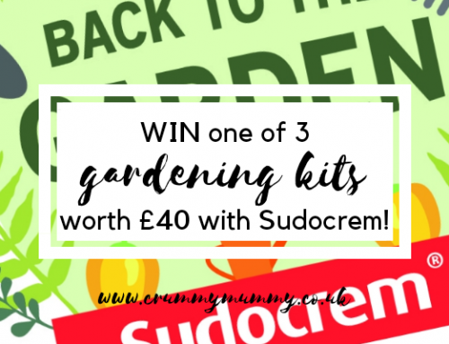 WIN one of 3 gardening kits worth £40 with Sudocrem! #ad
