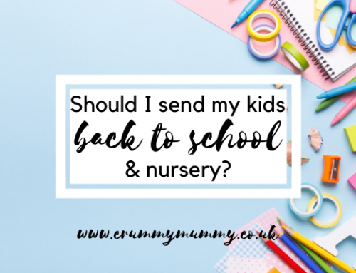 Should I send my kids back to school & nursery?