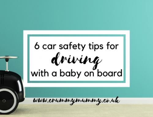 6 car safety tips for driving with a baby on board