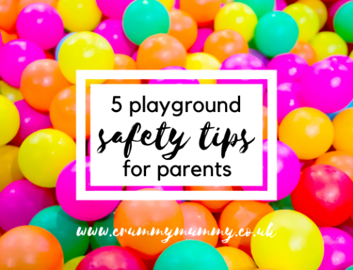5 playground safety tips for parents #ad