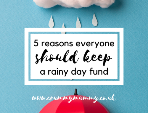 5 reasons everyone should keep a rainy day fund #ad
