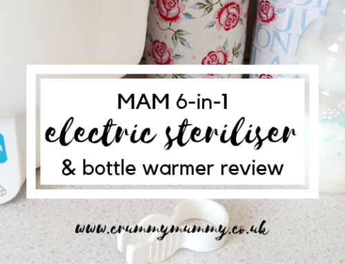 MAM 6-in-1 electric steriliser & bottle warmer review #ad
