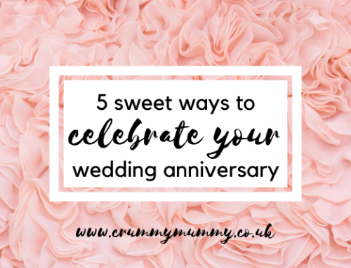 5 sweet ways to celebrate your wedding anniversary