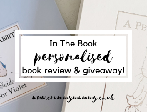 In The Book personalised book review & giveaway!