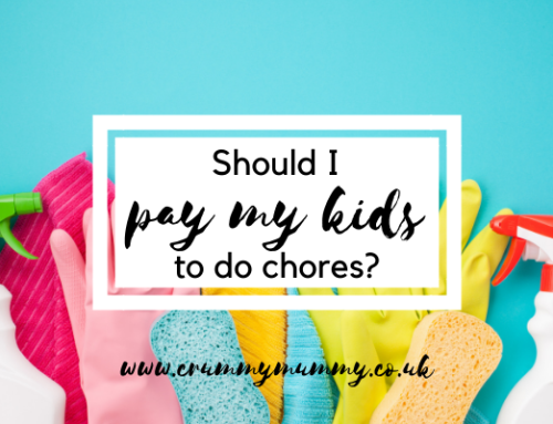 Should I pay my kids to do chores?