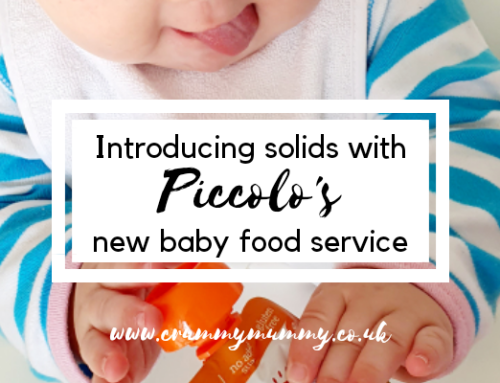Introducing solids with Piccolo's new baby food service