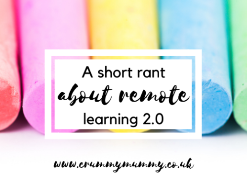 A short rant about remote learning 2.0