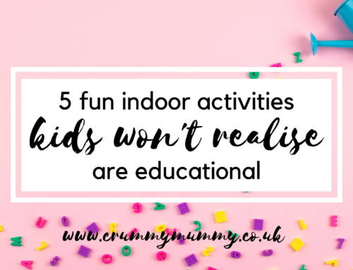 5 fun indoor activities kids won't realise are educational