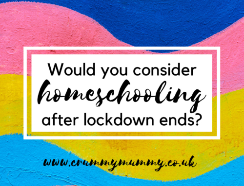 Would you consider homeschooling after lockdown ends?